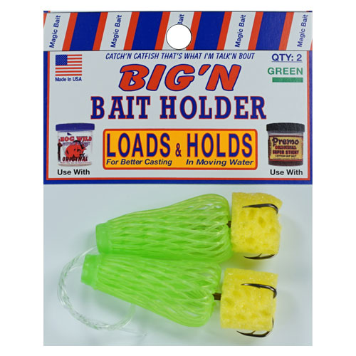 Green Big'n Bait Holders