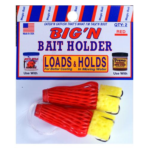 Red Big'n Bait Holders