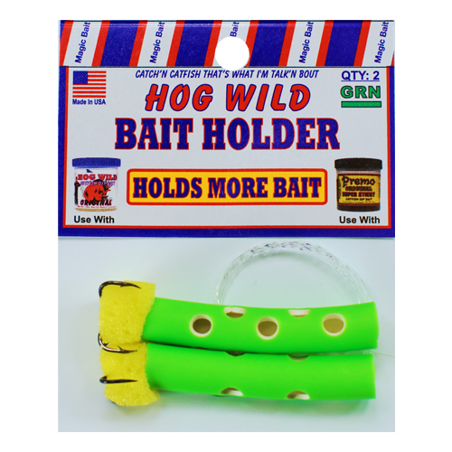 Green Bait Holders