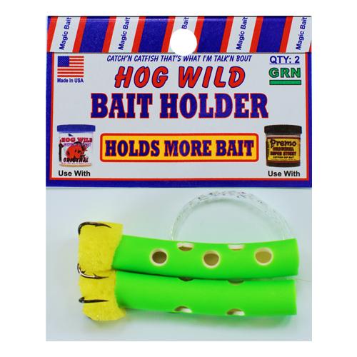 Green Bait Holders