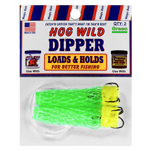 Green Bait Dippers