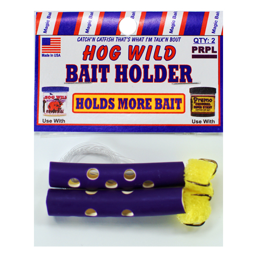 Purple Bait Holders
