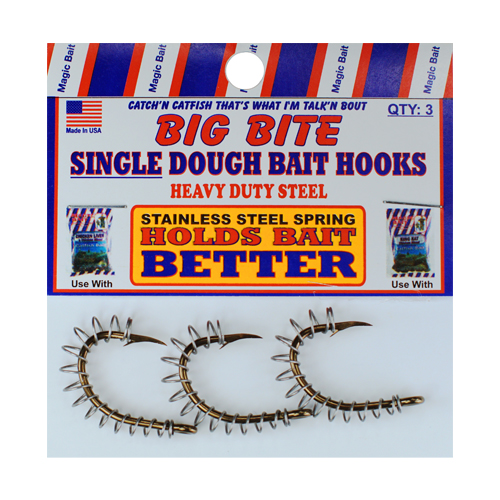 Wide Mouth Single Spring Hooks